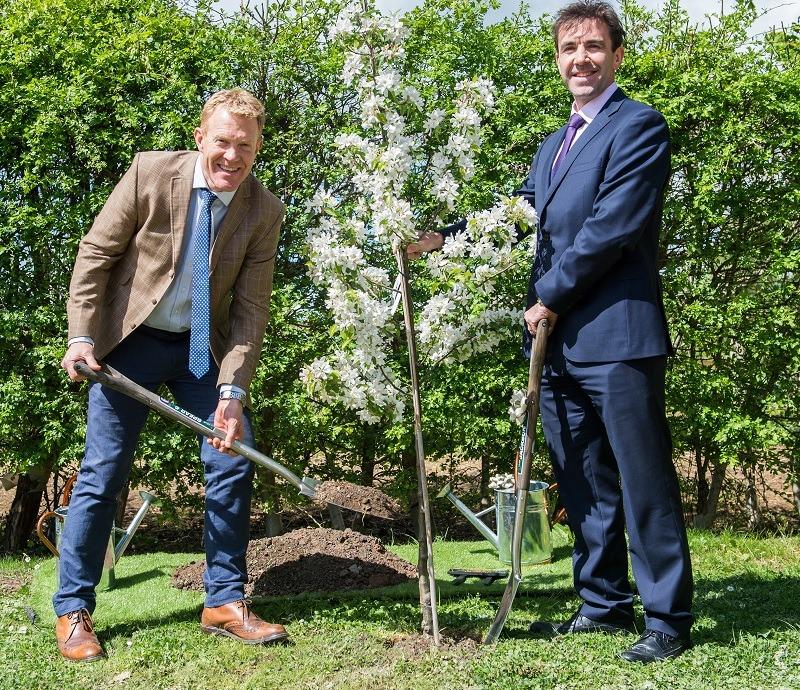 CPC Adam Henson opens memorial garden