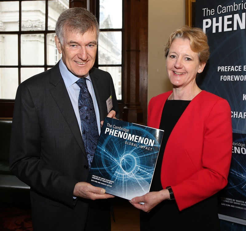 Cambridge Phenomenon Global Impact book launch and media relations